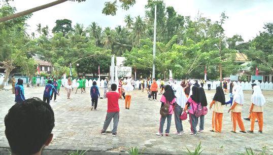 Meriah...Lomba Olah Raga Dan Seni, Jelang HUT RI ke 73 di Kecamatan Bontoharu