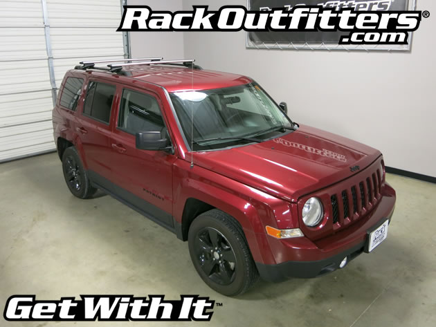 This Complete Multi Purpose Base Roof Rack Is The Perfect Fit For 2007 2017 Jeep Patriot 5 Door Suv With Raised Rails That Run Front To Back On