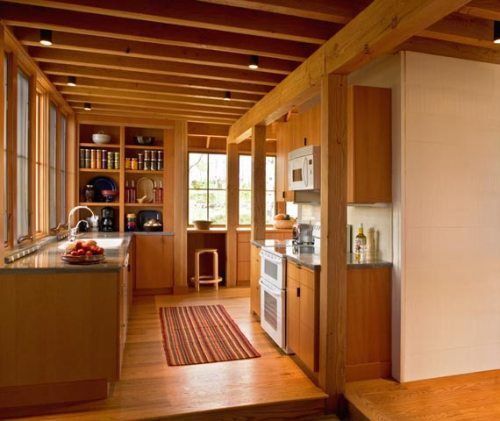 Konsep Rumah Kayu Modern