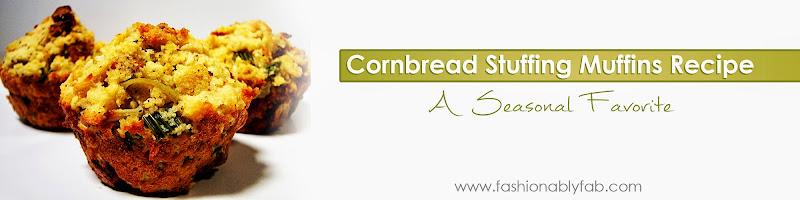 Cornbread Stuffing Muffin Recipe