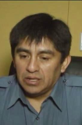 El nuevo Comisario de El Bolsón, Manuel Poblete