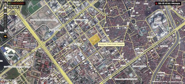 Vị trí chung cư Thanh Xuân Complex