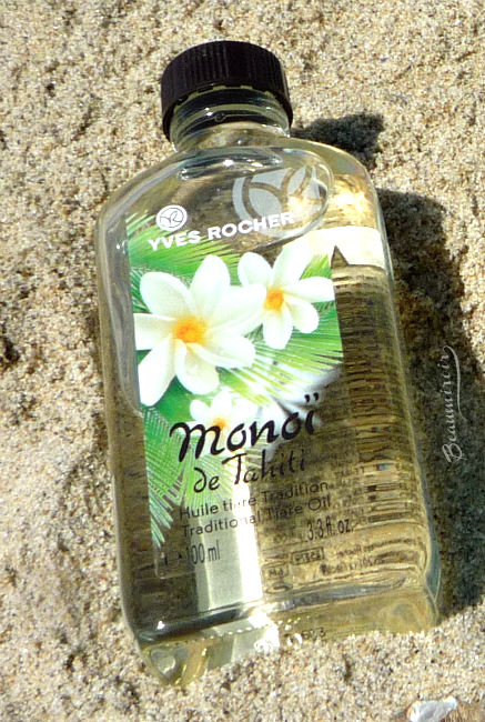 Yves Rocher Monoi de Tahiti line review: traditional tiare oil