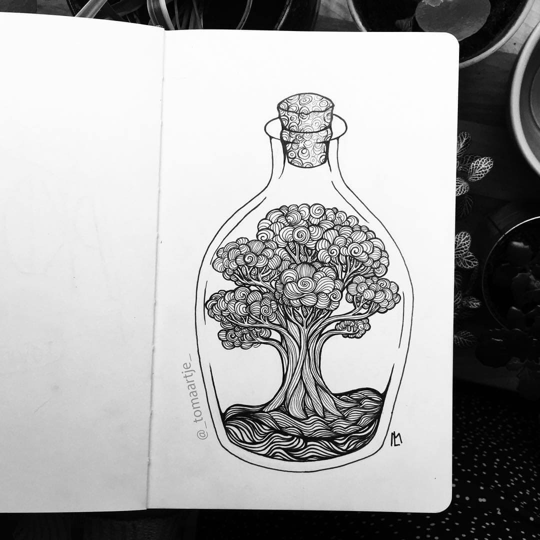 04-Tree-of-Life-Maartje-Ink-Drawings-Mostly-Enclosed-www-designstack-co