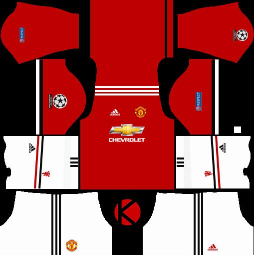 a9f6504ec Manchester United Kits 2017 2018 - Dream League Soccer - Kuchalana