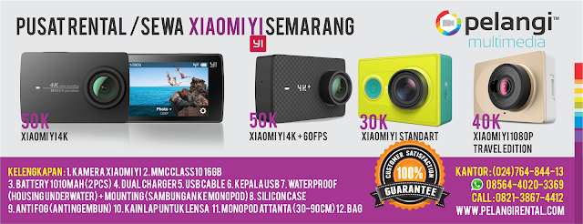 HP. 0856-9696-8672 / Sewa Xiaomi Yi di Studio Pelangi!