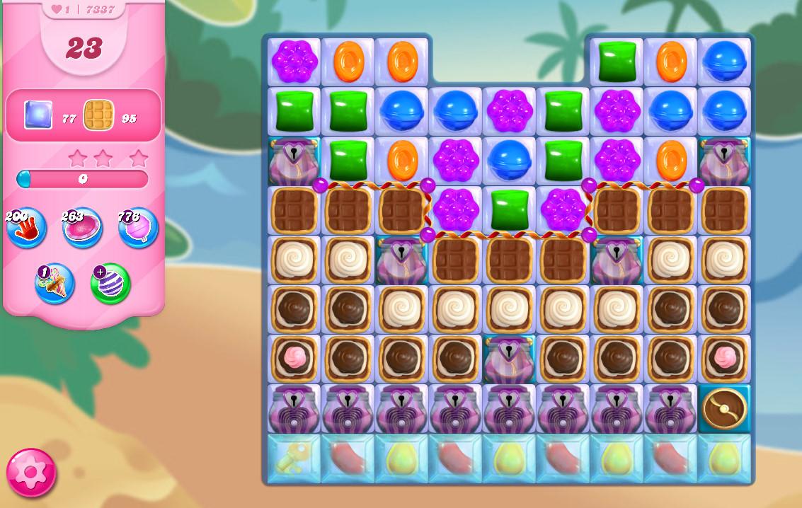 Candy Crush Saga level 7337