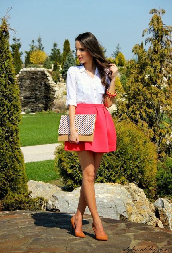 Outfits con faldas de moda