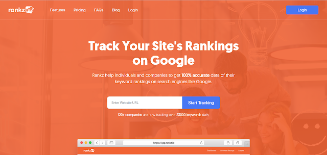 Rankz: Keyword Rank Tracking Tool