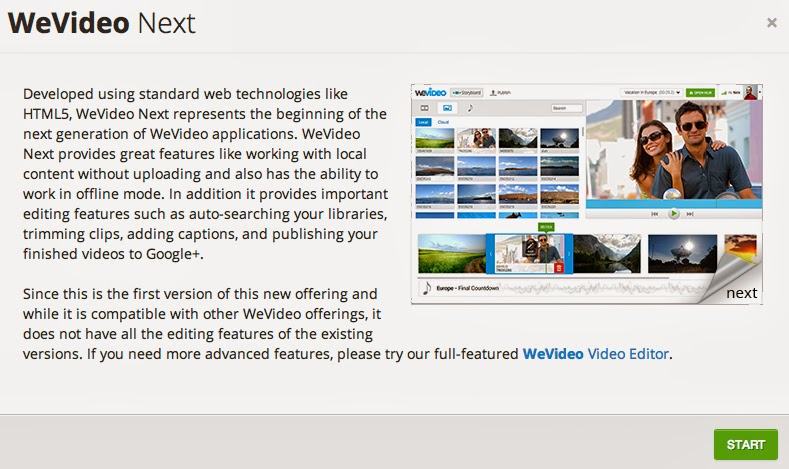 WeVideo Next: Offline Video Editing for Chrome/Chromebook