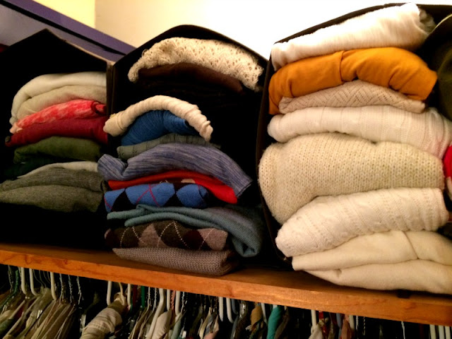 I organized my small closet once and for all...and I did it for under $50!
