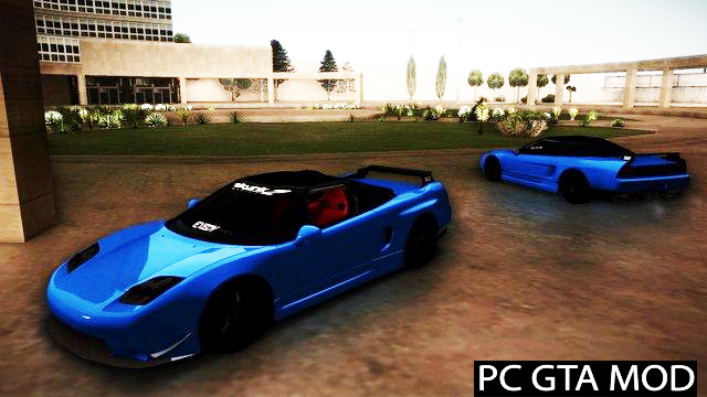 Free Download Acura NSX Tuned Mod for GTA San Andreas.