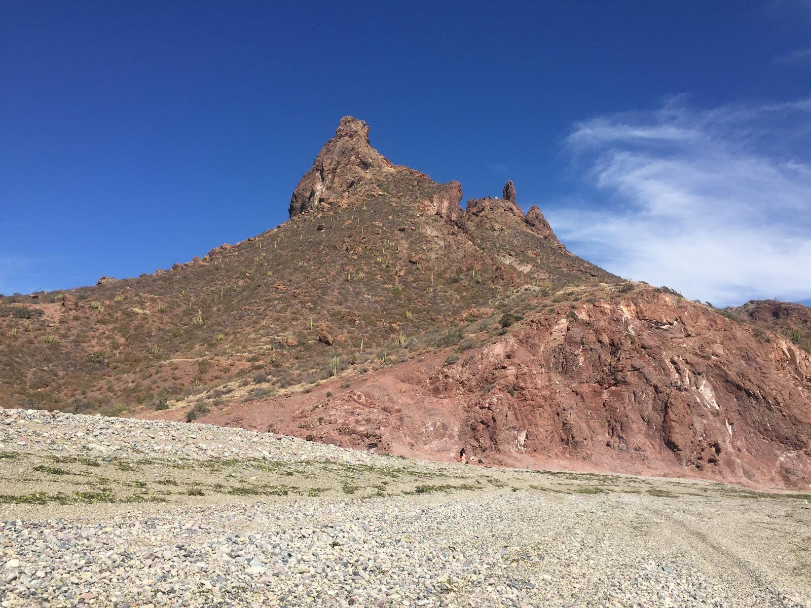 le cerro tetakawi à san carlos au mexique