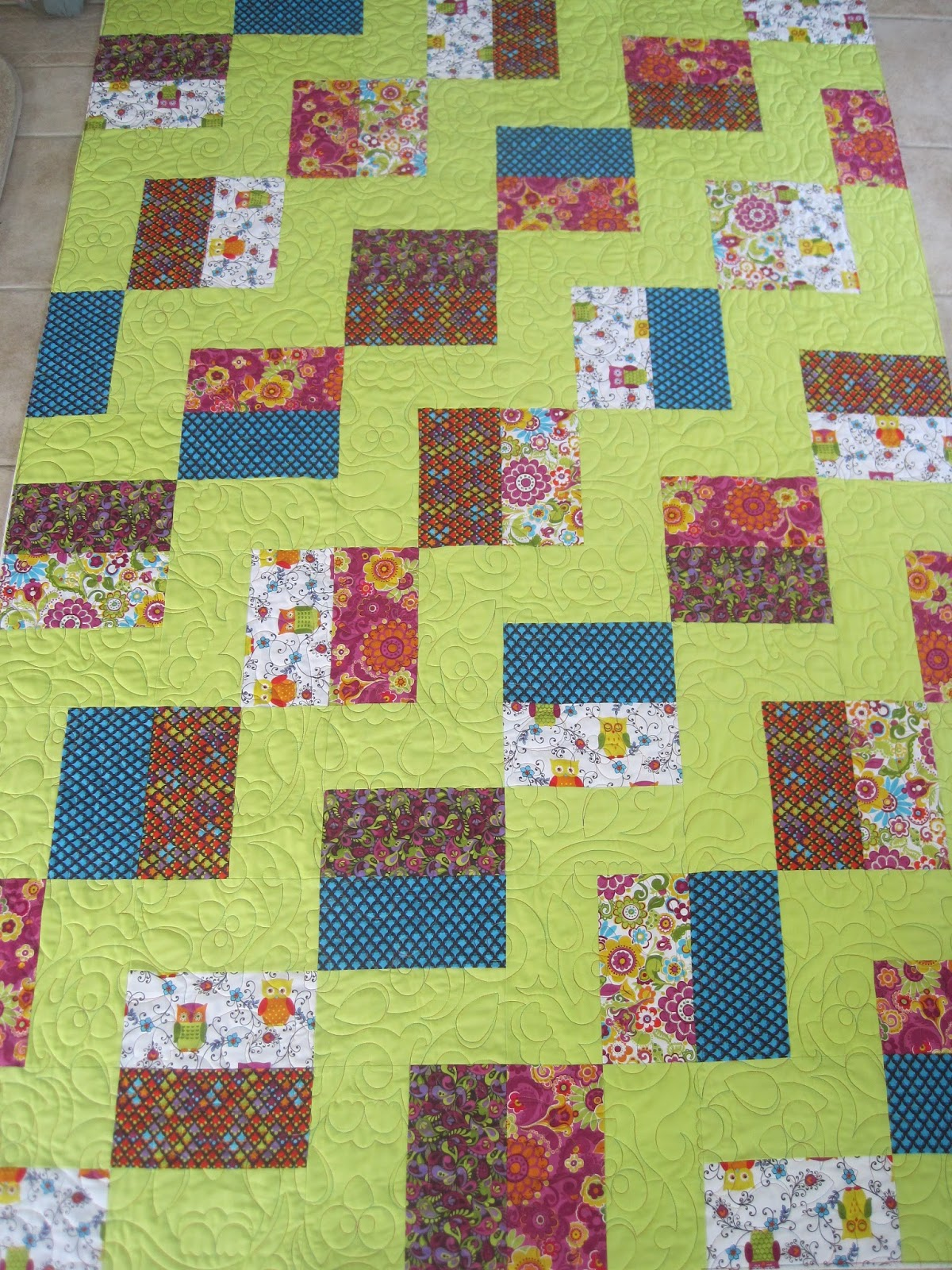 Finely Finished Quilts Susan S Texas Two Step