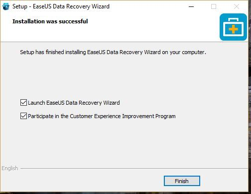 Cara install EaseUS data recovery wizard pada Windows 10