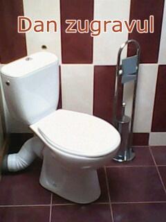 wc montat baie