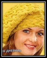 vyazanie dlya jenschin beret s kosami svyazannii spicami so shemoi i opisaniem