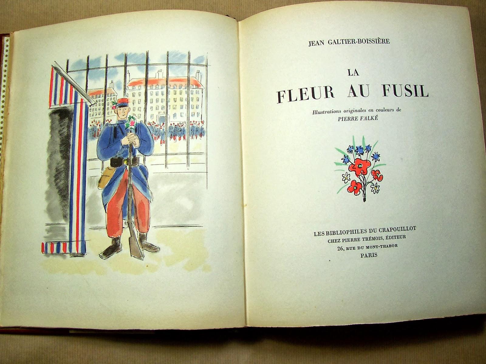 Librairie Ancienne Et Autres Tresors La Fleur Au Fusil De