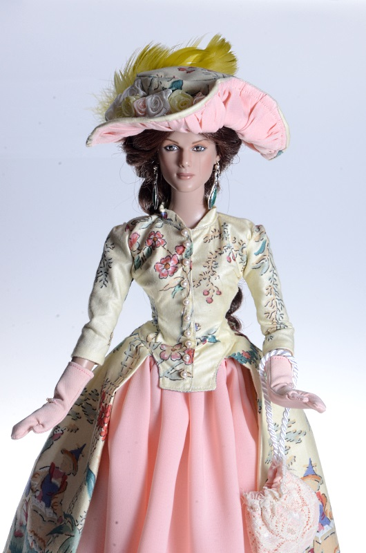 Dress from the age for Tonner doll.
