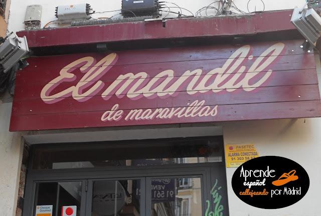 Aprende español callejeando por Madrid: Se te va la olla