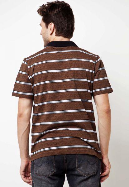 Camisa Polo FiveBlu Solft Marrom