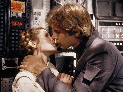 Han Solo e Princesa Leia