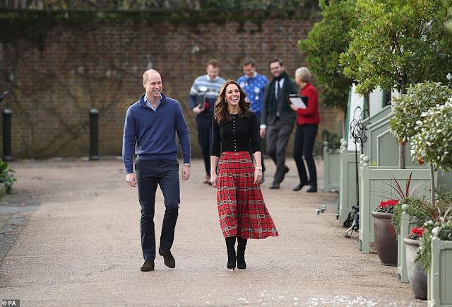 Przyjęcie świąteczne w Pałacu Kensington