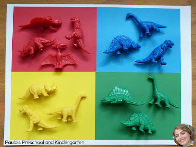 Dinosaur Stomp: dinosaur books, activity and FREE counting game!