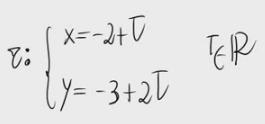 38. Cálculo de puntos de una recta (Ecuaciones paramétricas)