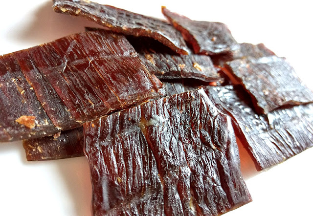 spiced beef jerky