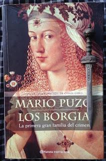 Portada del libro Los Borgia, de Mario Puzo y Carol Gino