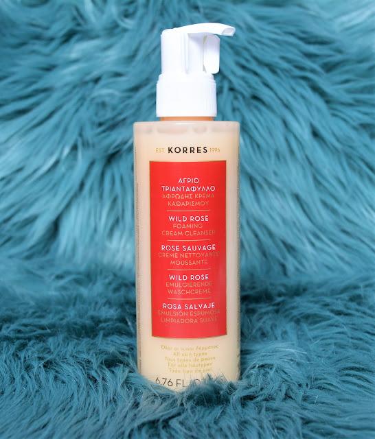 Korres | Wild Rose Foaming Cream Cleanser