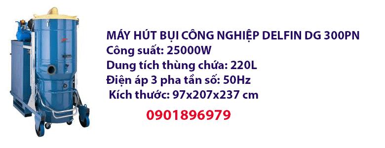 MÁY HÚT BỤI CÔNG NGHIỆP DELFIN DG 300PN