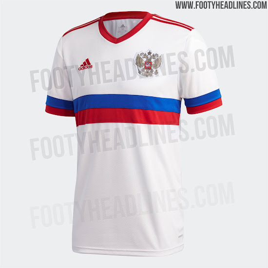 Russia 2020-21 Home Kit Released - New Design After 'Serbia Flag'  Controversy - Footy Headlines