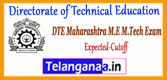 Directorate of Technical Education Maharashtra ME M.Tech Cutoff 2018 Admission Counselling