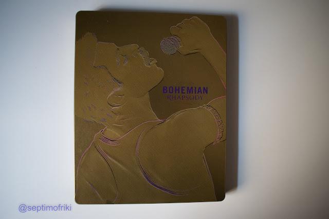 Análisis, reportaje fotográfico, Steelbook, Bohemian Rhapsody