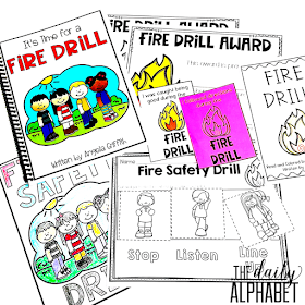 The Daily Alphabet: Classroom Safety Drills