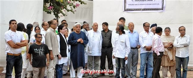Farooq Sheikh Prayer Meet, Celebs at Farooq Sheikh Prayer Meet
