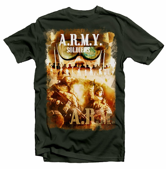 army tshirt designs