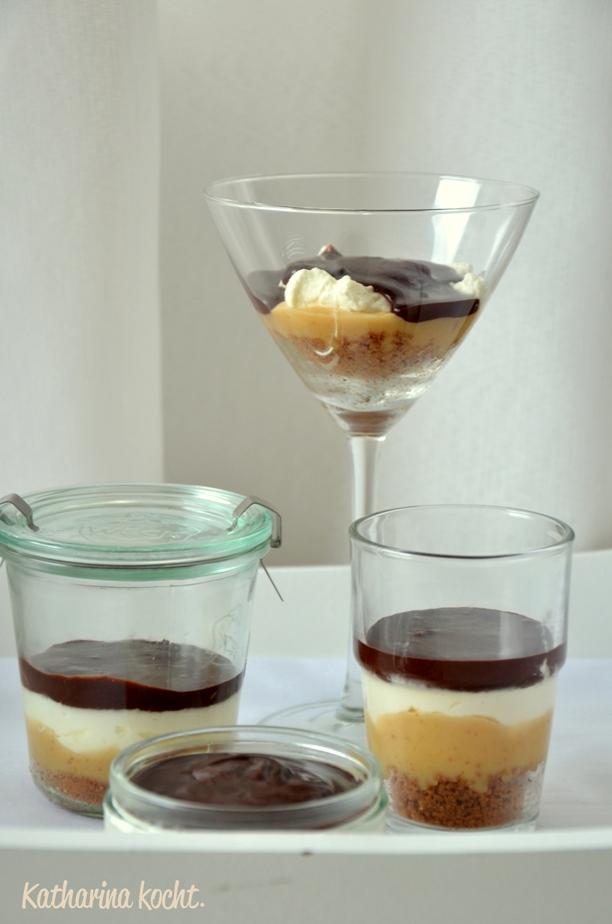 banoffee dessert mit schokolade und g kann einpacken katharina kocht. Black Bedroom Furniture Sets. Home Design Ideas