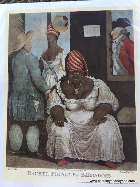 art print at Barbados Museum & Historical Society in Barbados