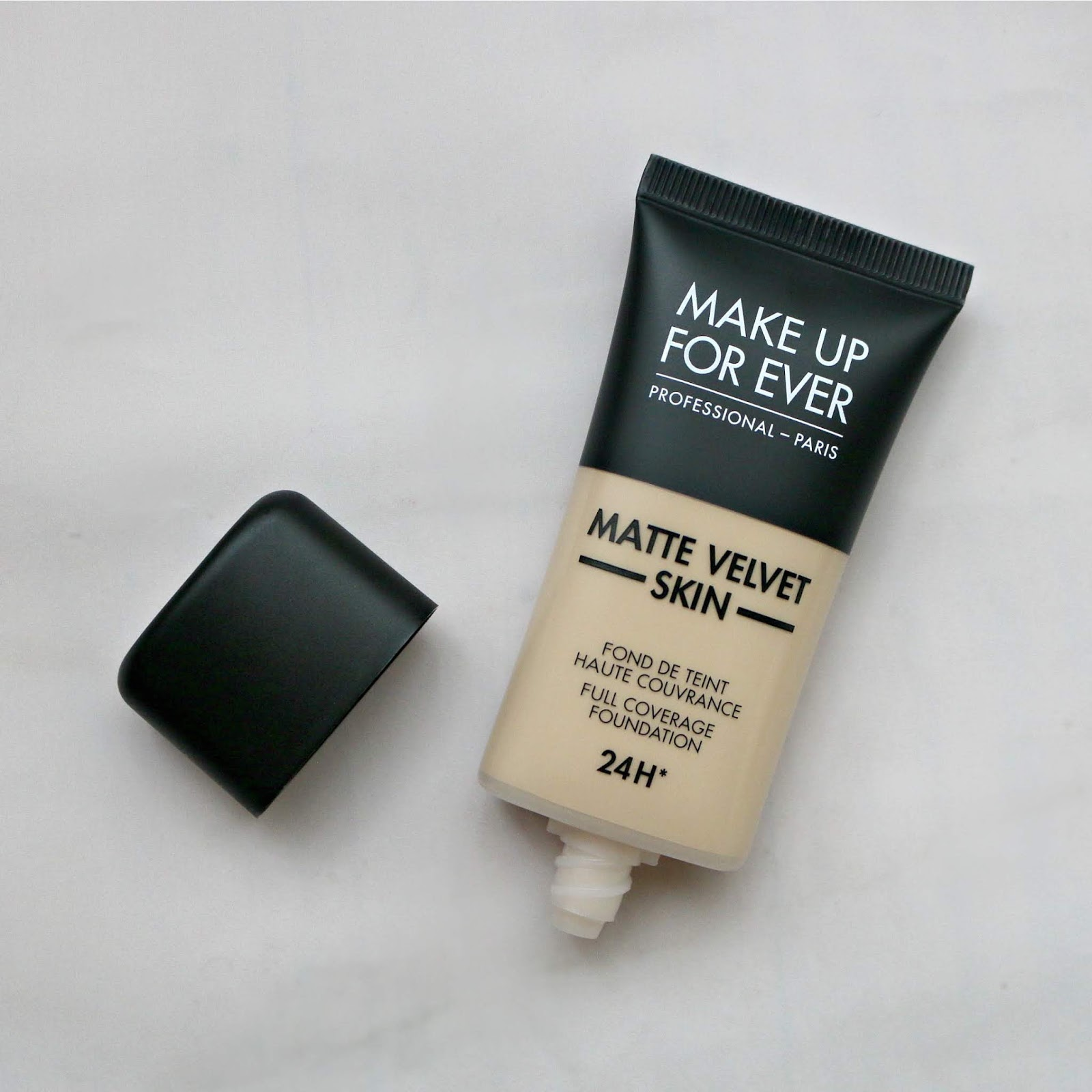 Make Up For Ever Matte Velvet Skin Foundation Y235 Review