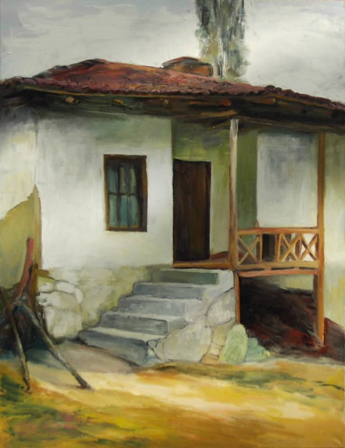 Болгарская художница. Miroslava Zaharieva