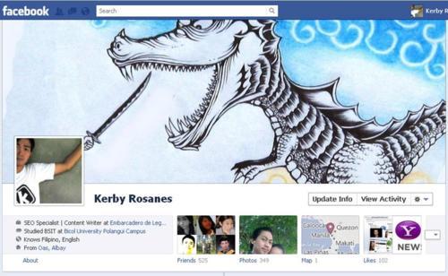 أكثر 30 بروفايل إبداعا و غرابة في الفيس بوك