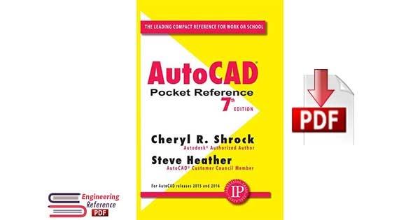 Autocad pocket reference pdf download software