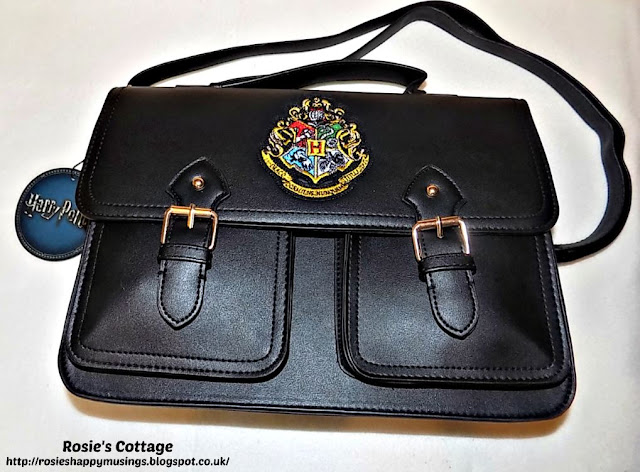 Harry Potter Hogwarts Black Satchel from Primark