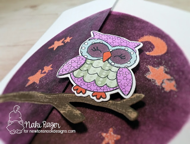 Newton's Nook Designs What A Hoot Set - Naki Rager