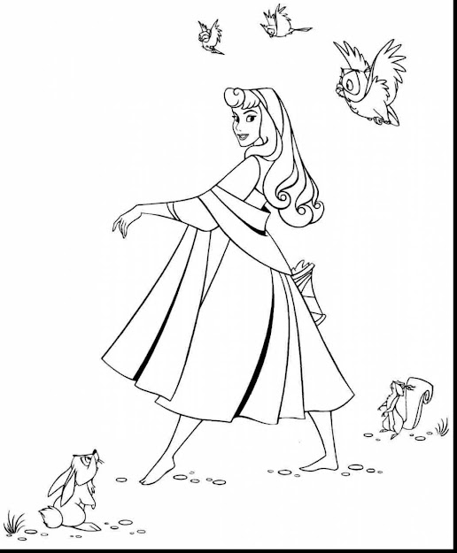 Terrific Sleeping Beauty Coloring Pages Printable With Sleeping Beauty  Coloring Pages And Sleeping Beauty Dragon Coloring