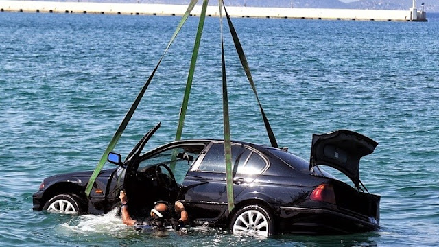 Μέθανα: 75χρονη έπεσε με το αυτοκινητο της στη θάλασσα