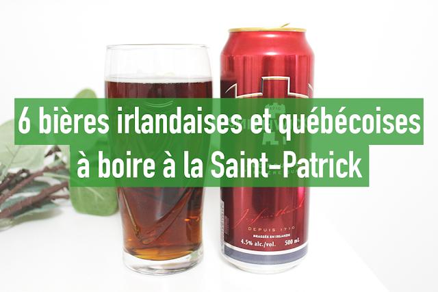 6 bières irlandaises et québécoises à boire à la Saint-Patrick